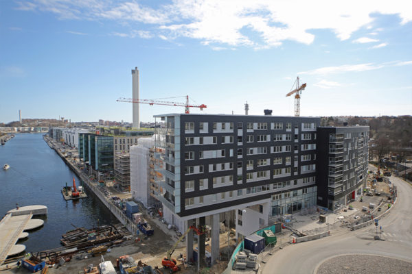 Båghuset, Hammarby Sjöstad